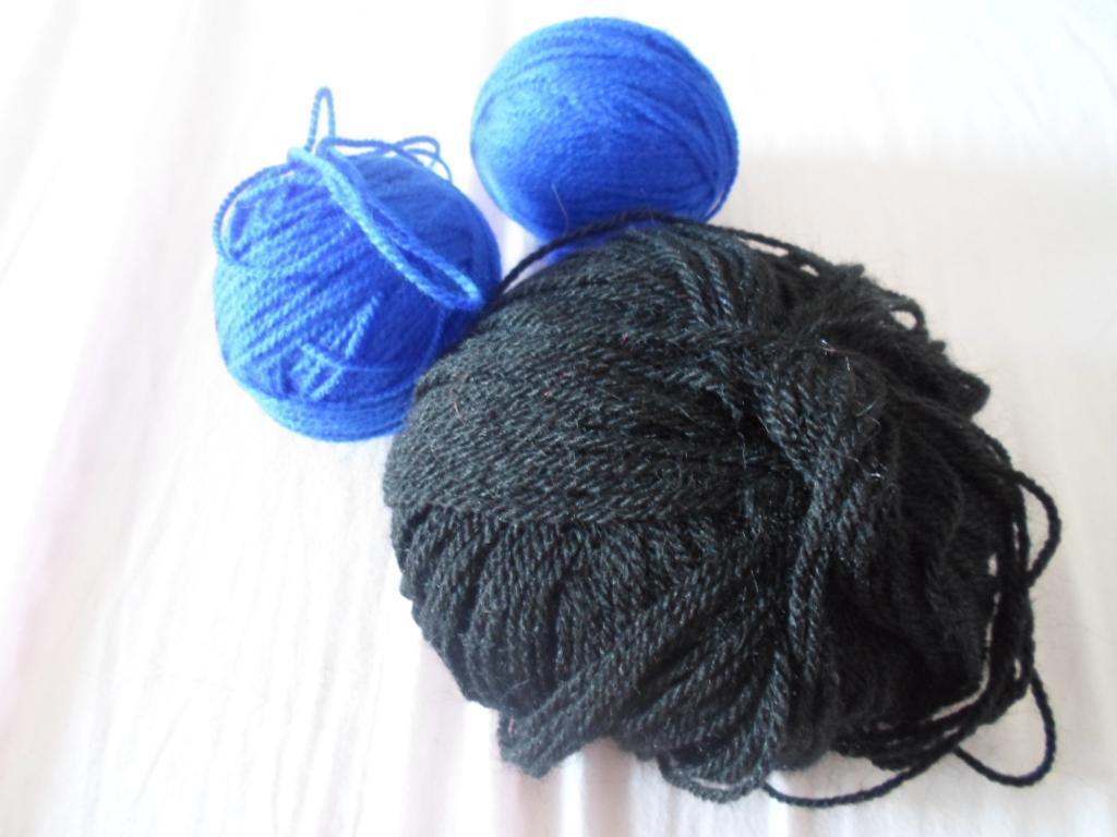 troc de troc * 3 pelotes de laine image 0