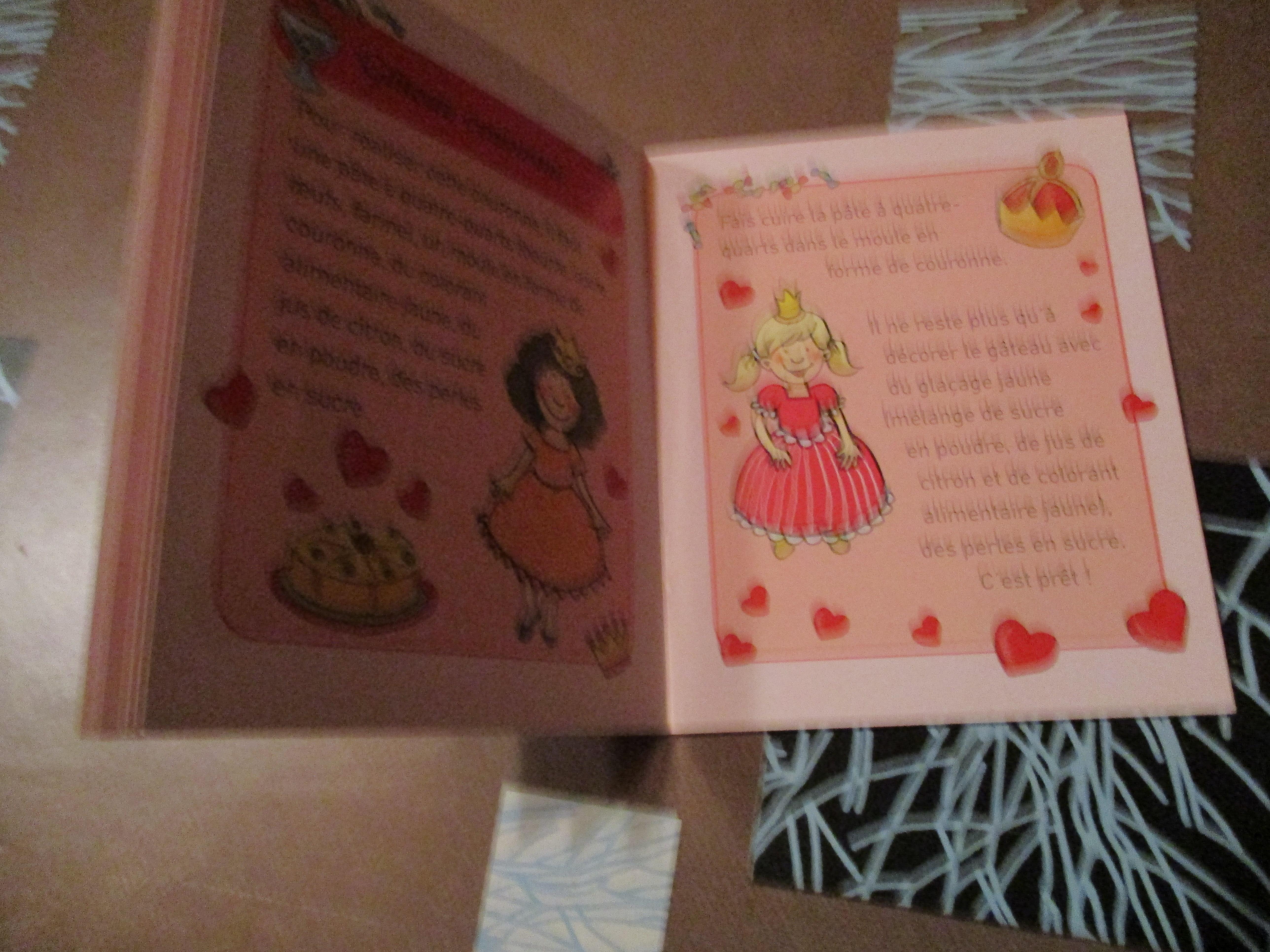 """troc de troc tout petit livre """" recettes de princesse """" image 1"""