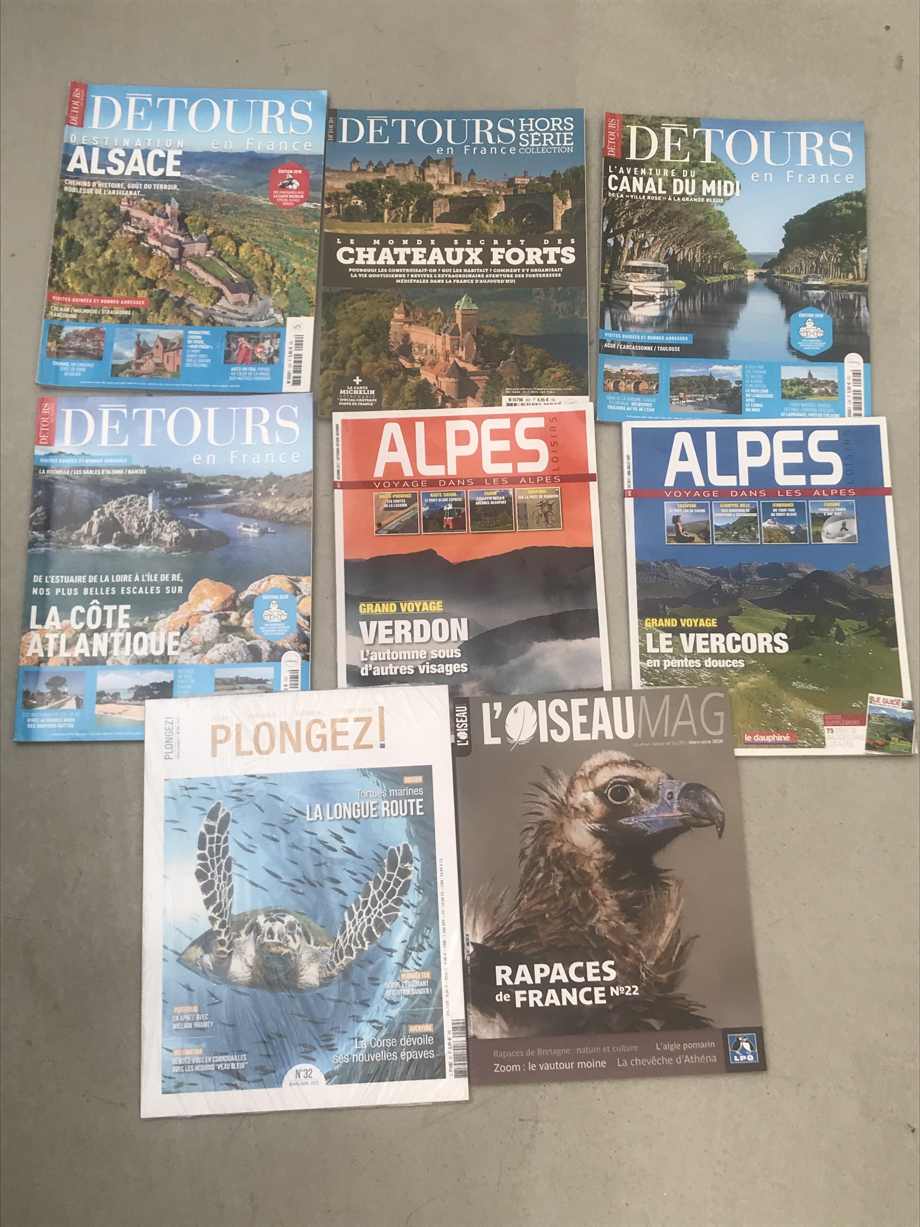troc de troc lot de 8 magazines paysage et nature image 0