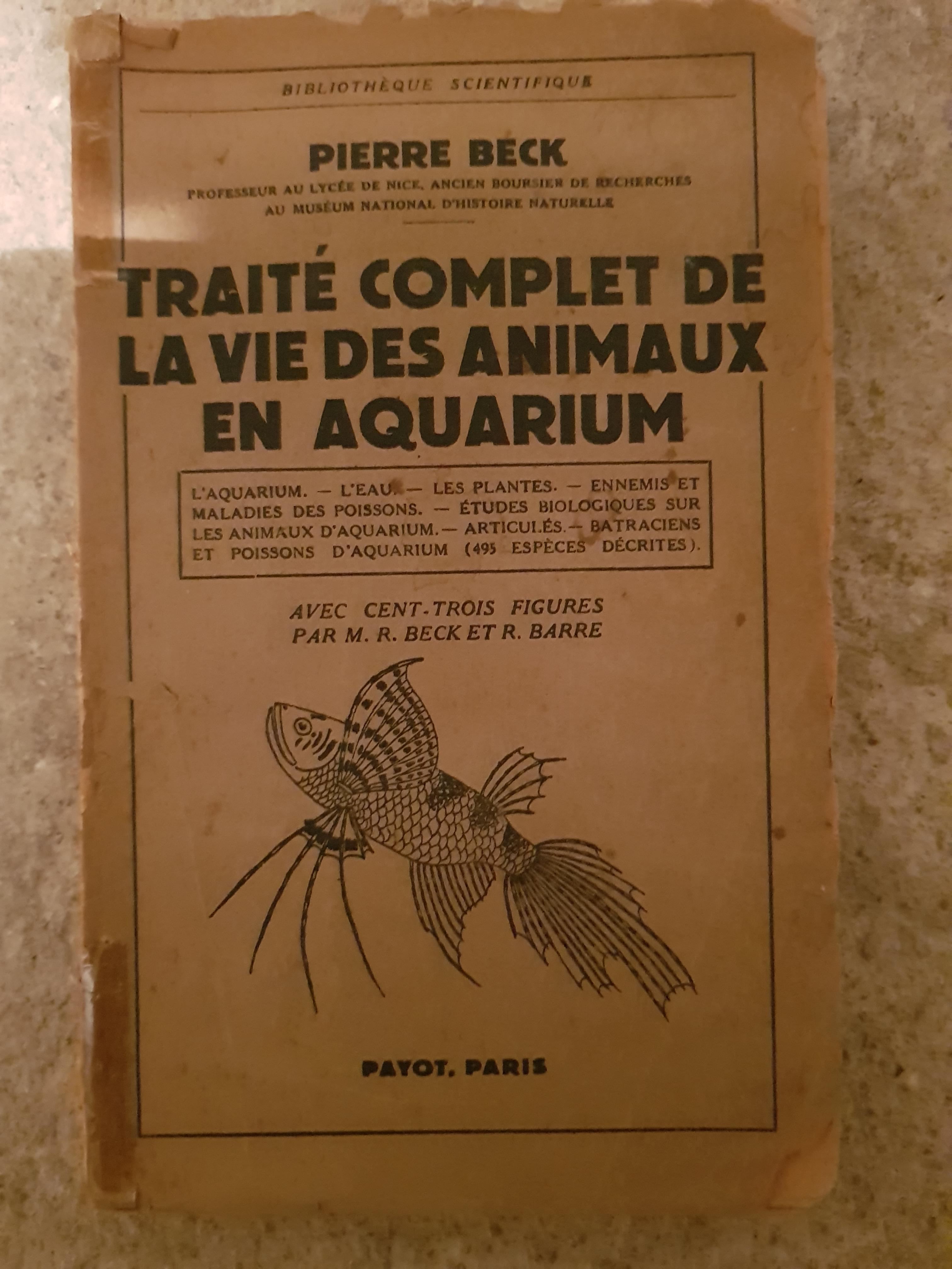 troc de troc livre sur les aquarium image 0