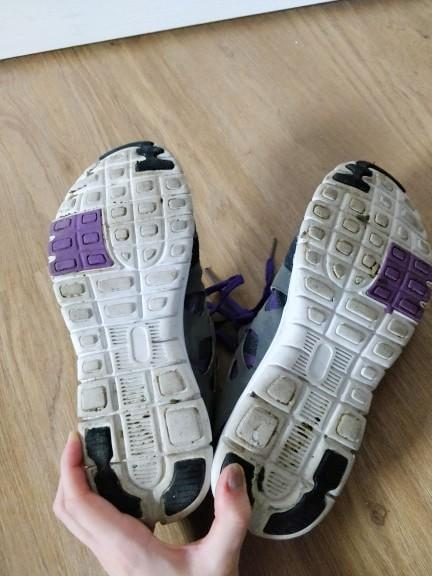 troc de troc baskets noires et violettes image 2