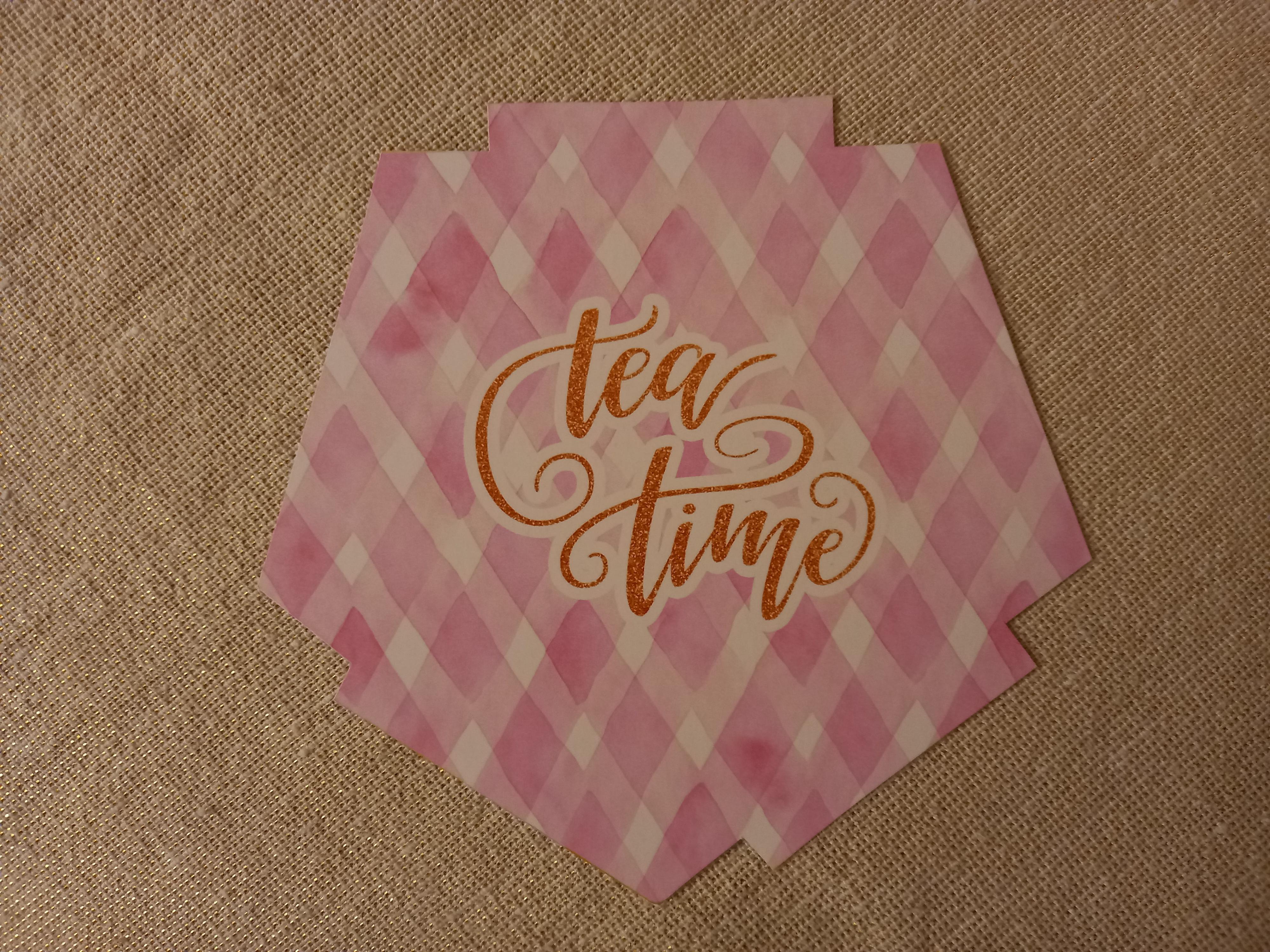 """troc de troc carte """"tea time"""". image 0"""