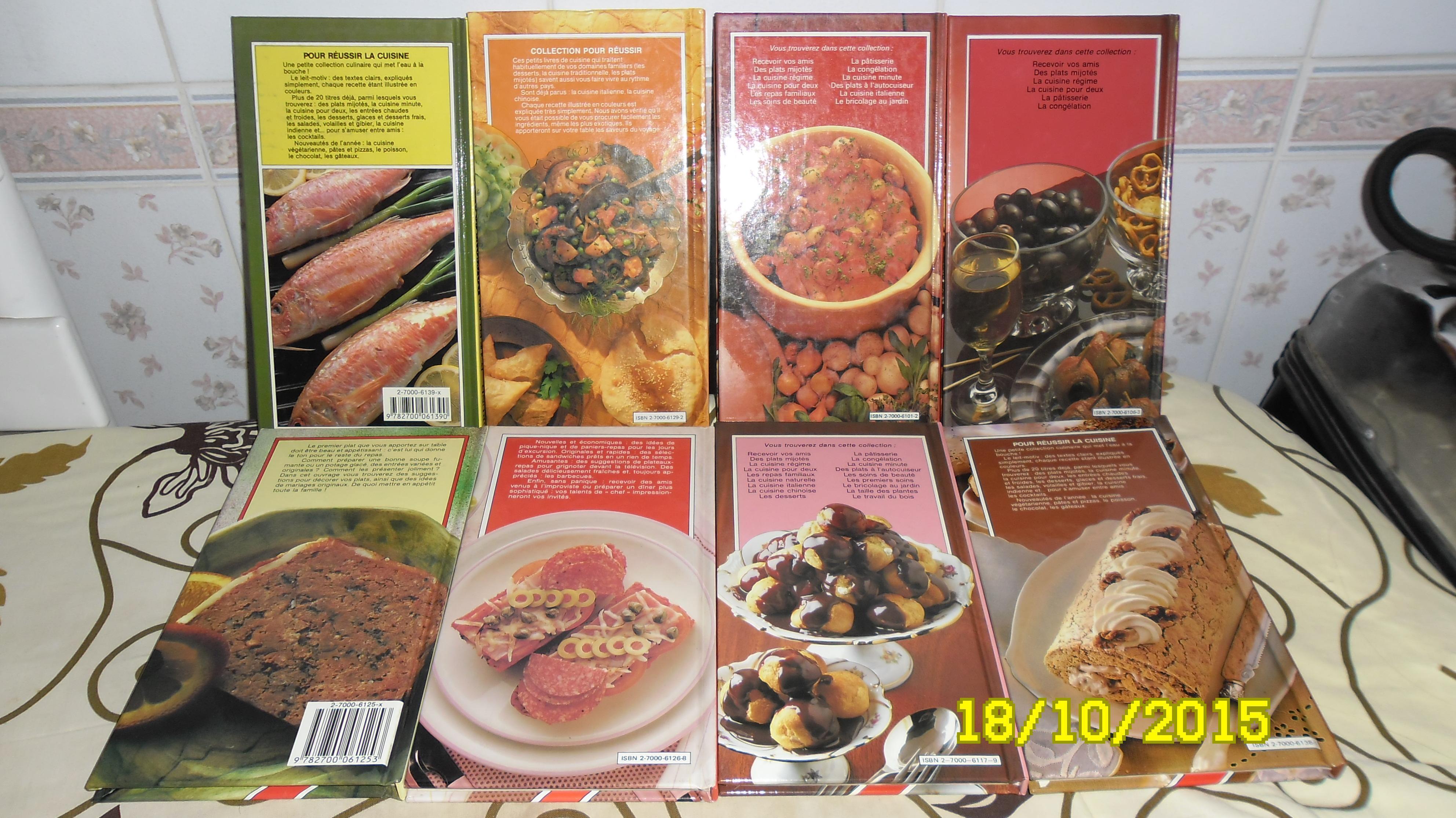 troc de troc 7 petits livres de cuisines spécialisées image 1