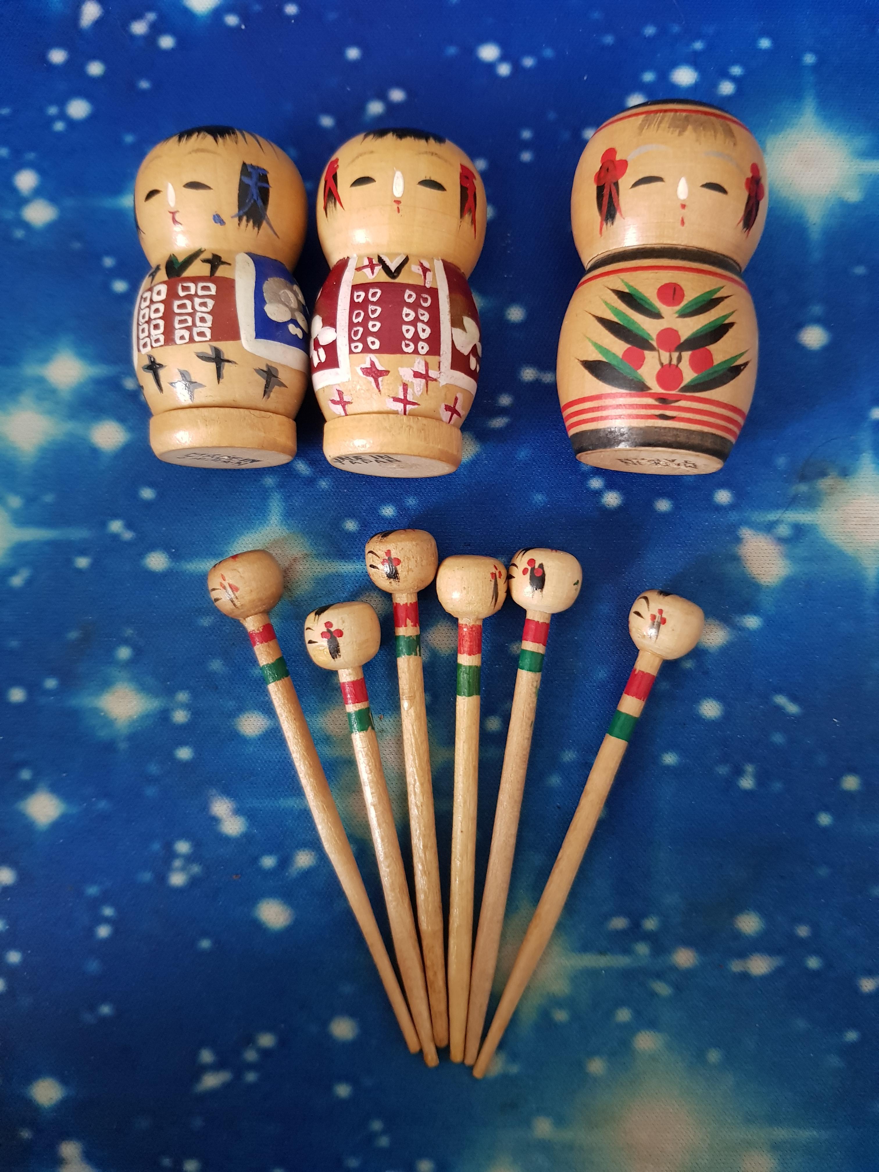 troc de troc ensemble sel poivre piques en bois japonais image 0
