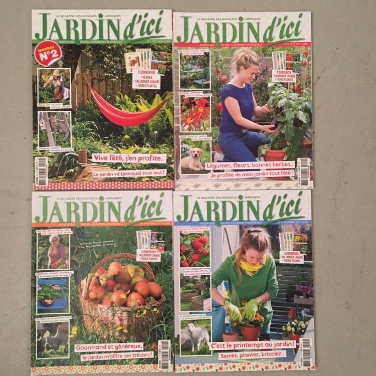 troc de troc 3 lots de magazines de jardinage neufs image 1