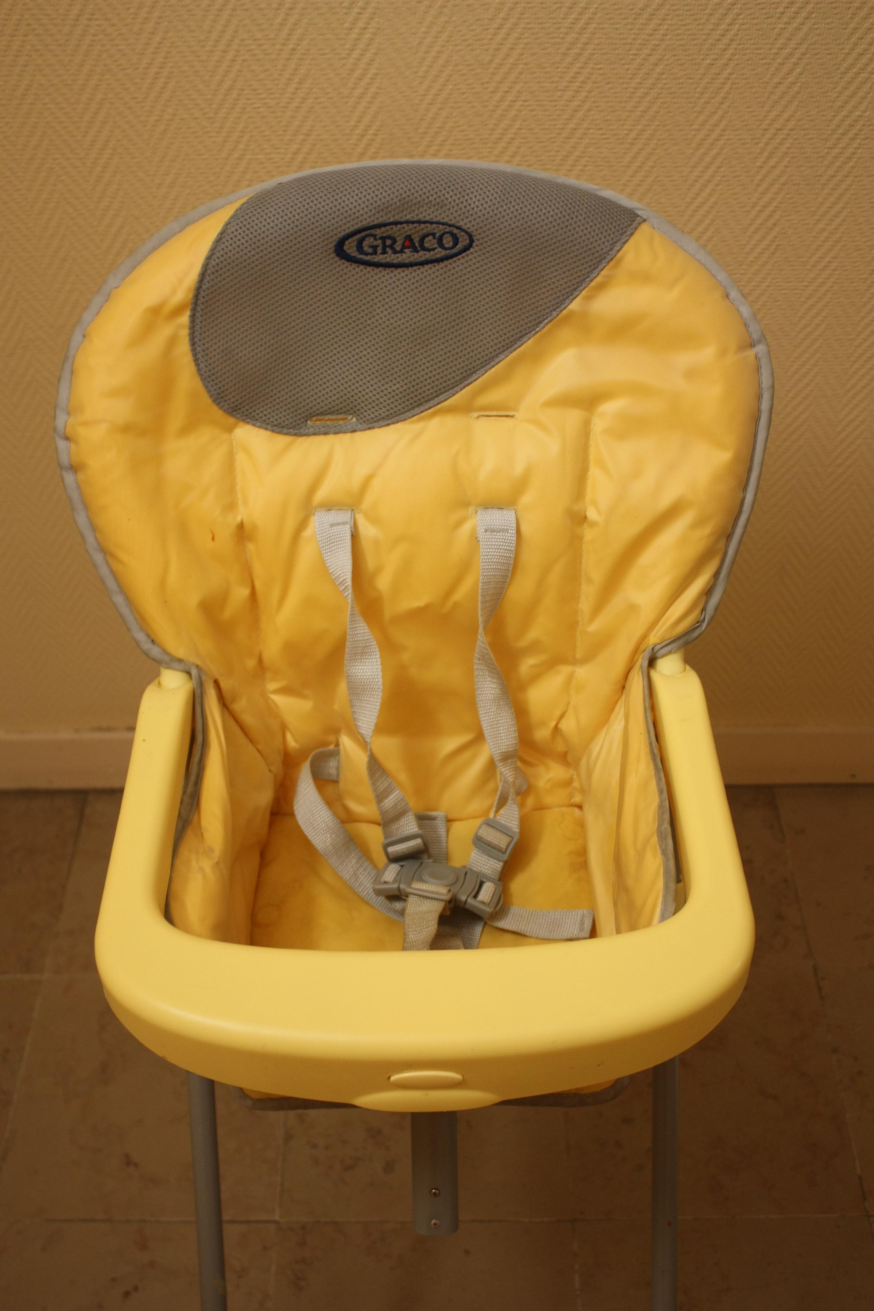 troc de troc chaise haute pliable bébé image 1