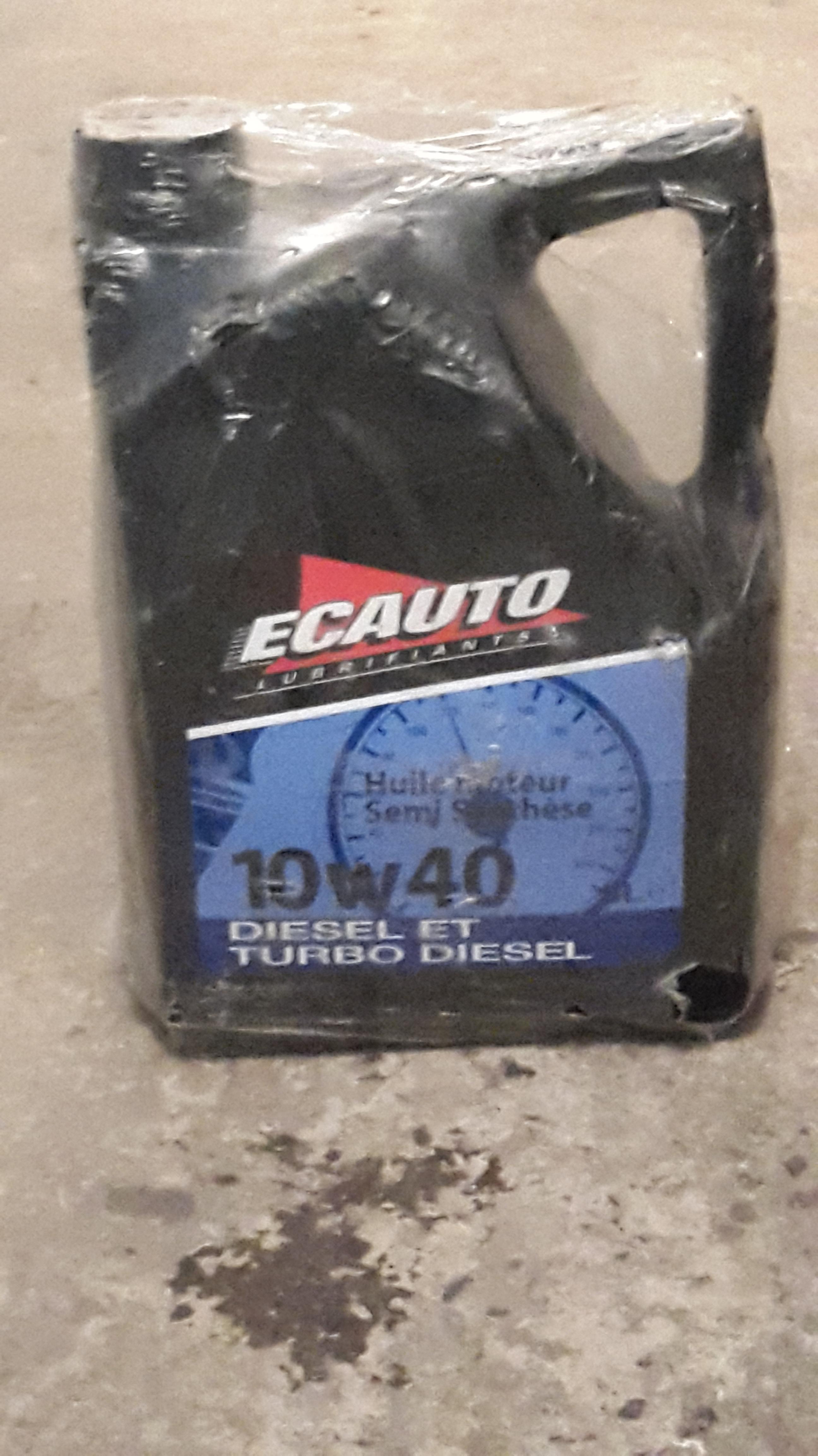 troc de troc huile moteur diesel ou turbo diesel image 0