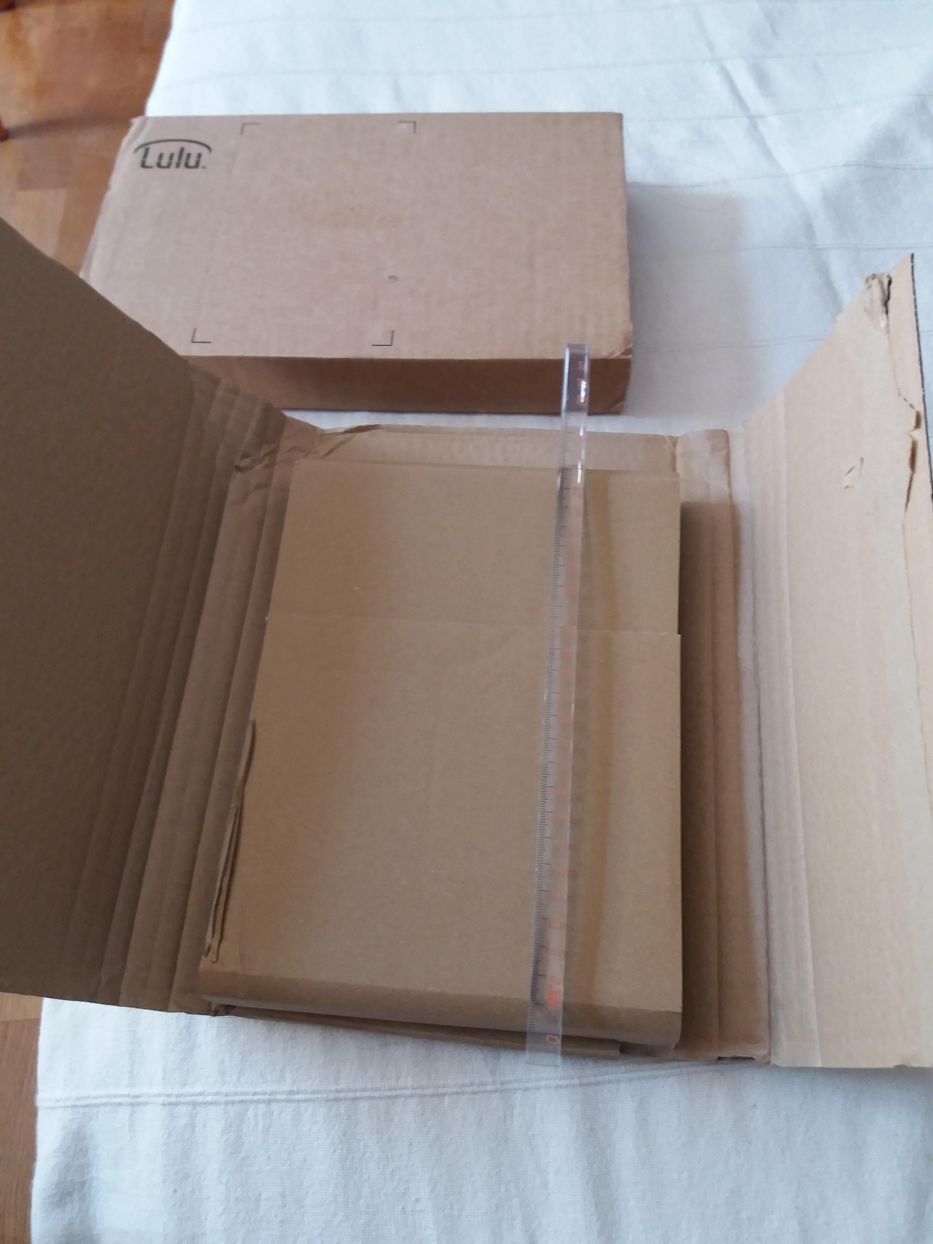 troc de troc boîte pour envoi de livres image 0