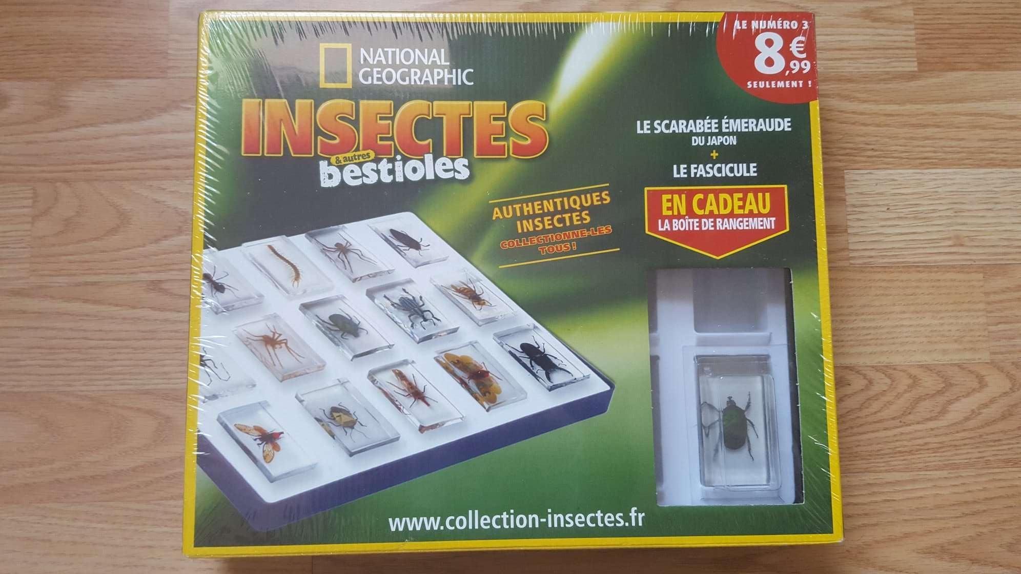"""troc de troc réservé - 1iere boite de la collection """"insectes & autres bestioles"""" image 0"""