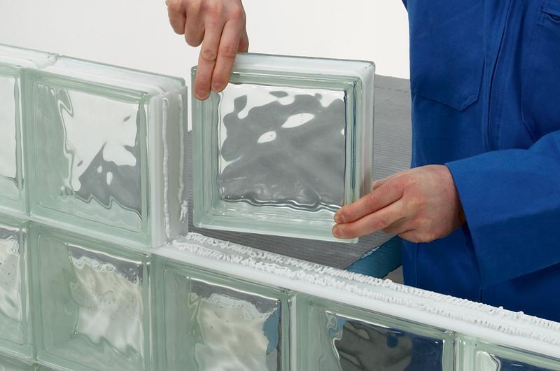 troc de troc lot 16 paves / briques / carrés / carreaux de verre transparent pret à poser image 0