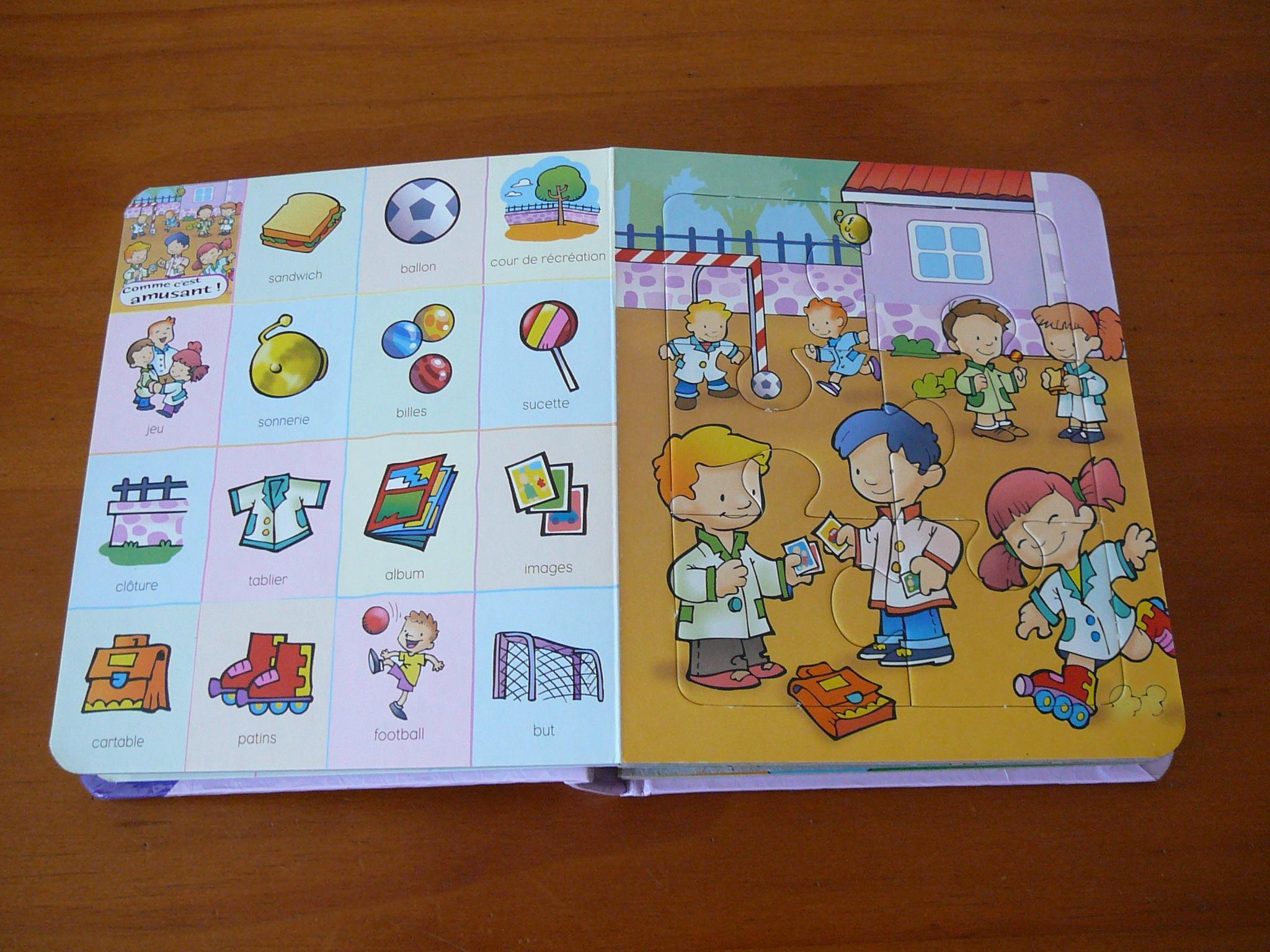 troc de troc livre imagier et puzzles image 1
