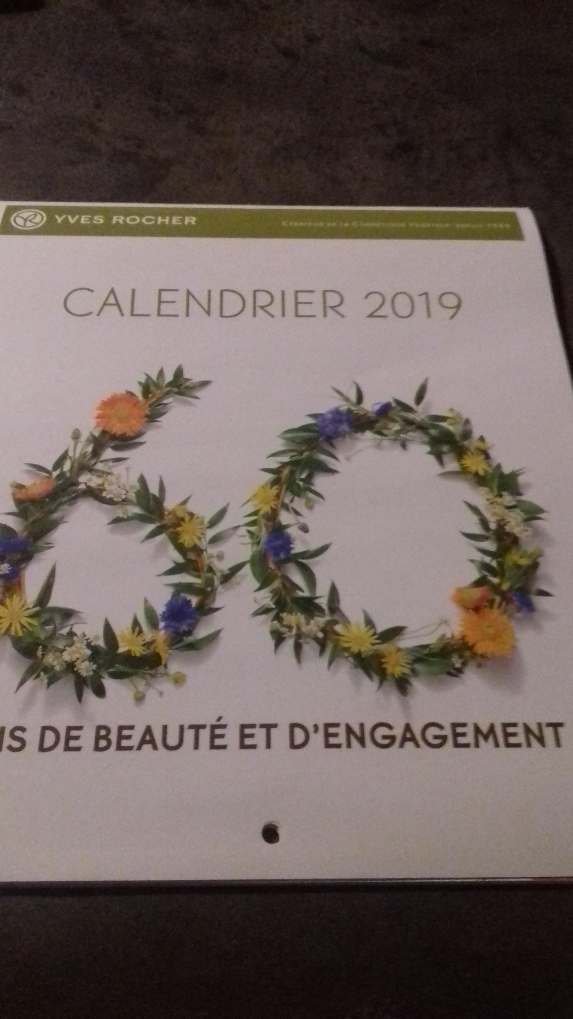 troc de troc calendrier 2019 image 0