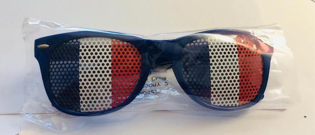 troc de troc paire de lunettes  pour les fans de équipe de france (neuve) image 0