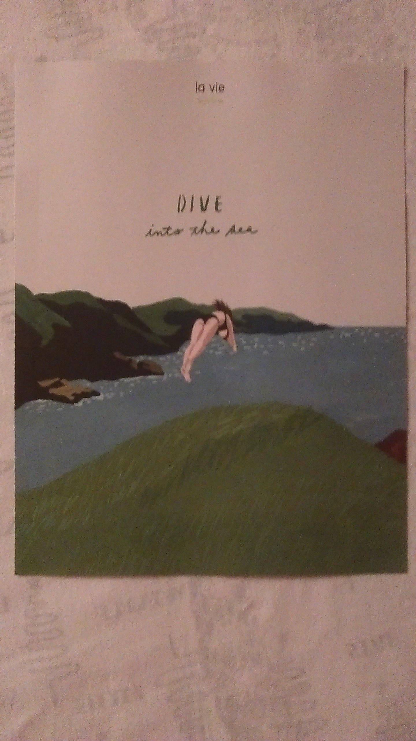 """troc de troc affiche """"dive into the sea"""". image 0"""