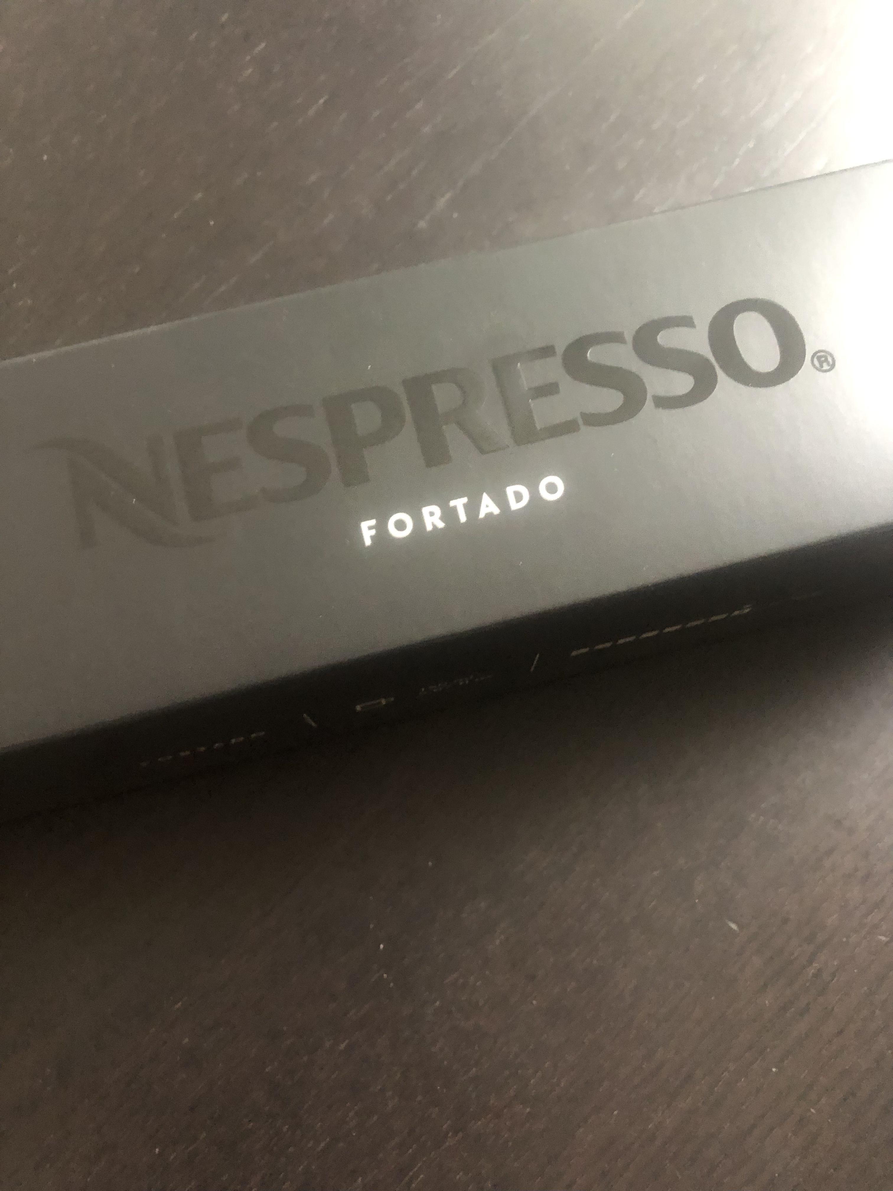 troc de troc barrette capsules nespresso vertuo fortado neuve 150 ml image 0