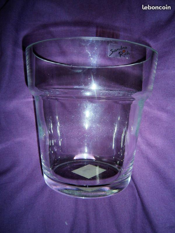 troc de troc vase transparent image 1
