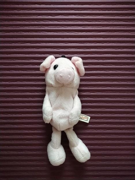 troc de troc petit cochon à adopter (peut être suspendu, utilisé comme house de portable ou en petit compagnon) image 1