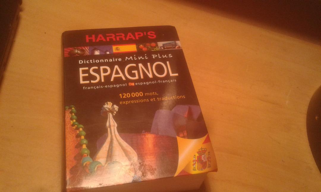 troc de troc dictionnaire français-espagonl et espagnol-français image 0
