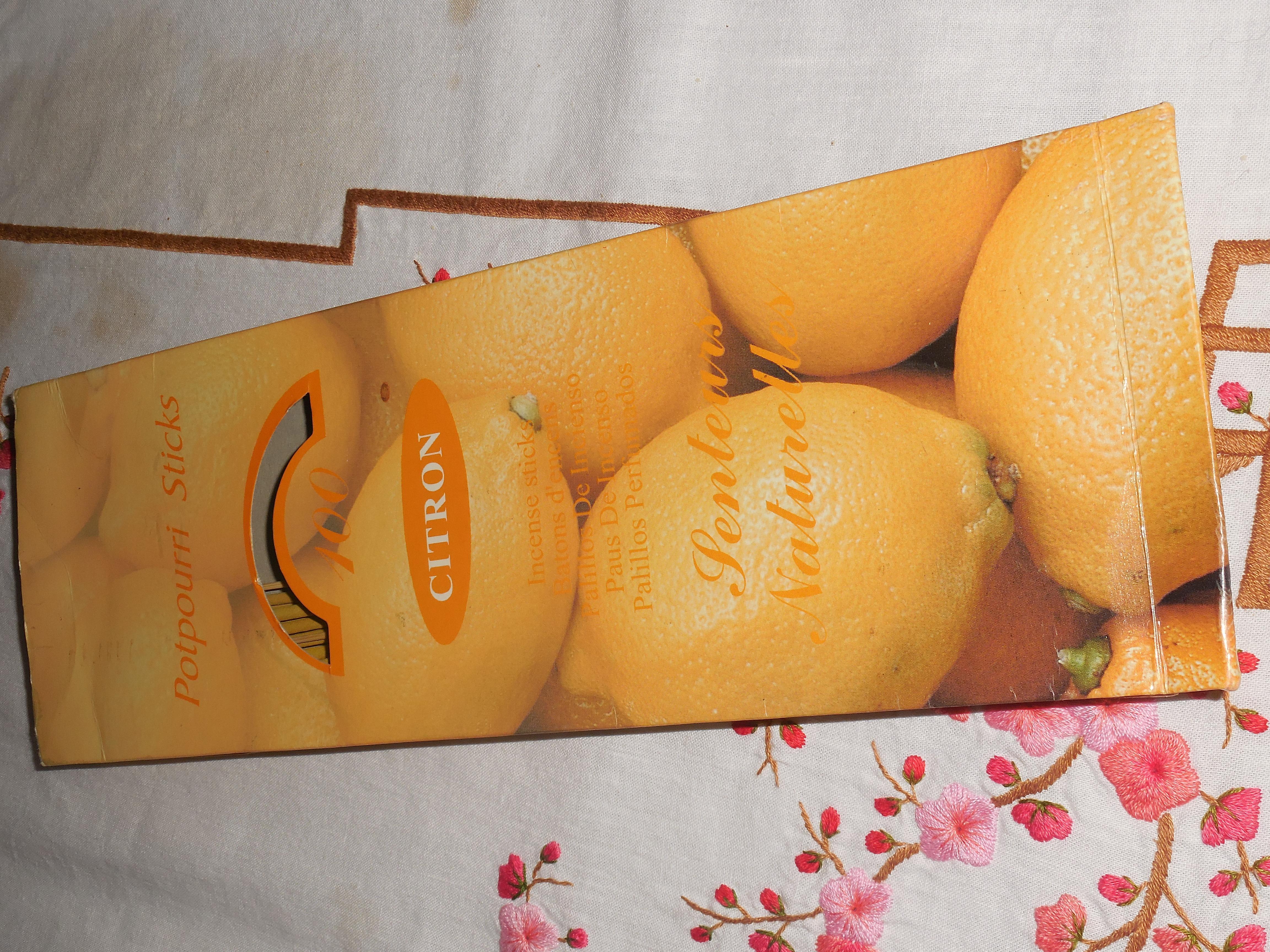 troc de troc 12 batonnets d'encens citron image 0