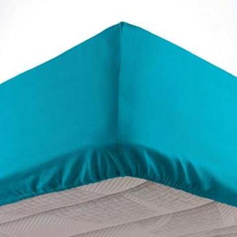 troc de troc recherche drap housse matelas 160x200x30 cm- 100% coton image 0