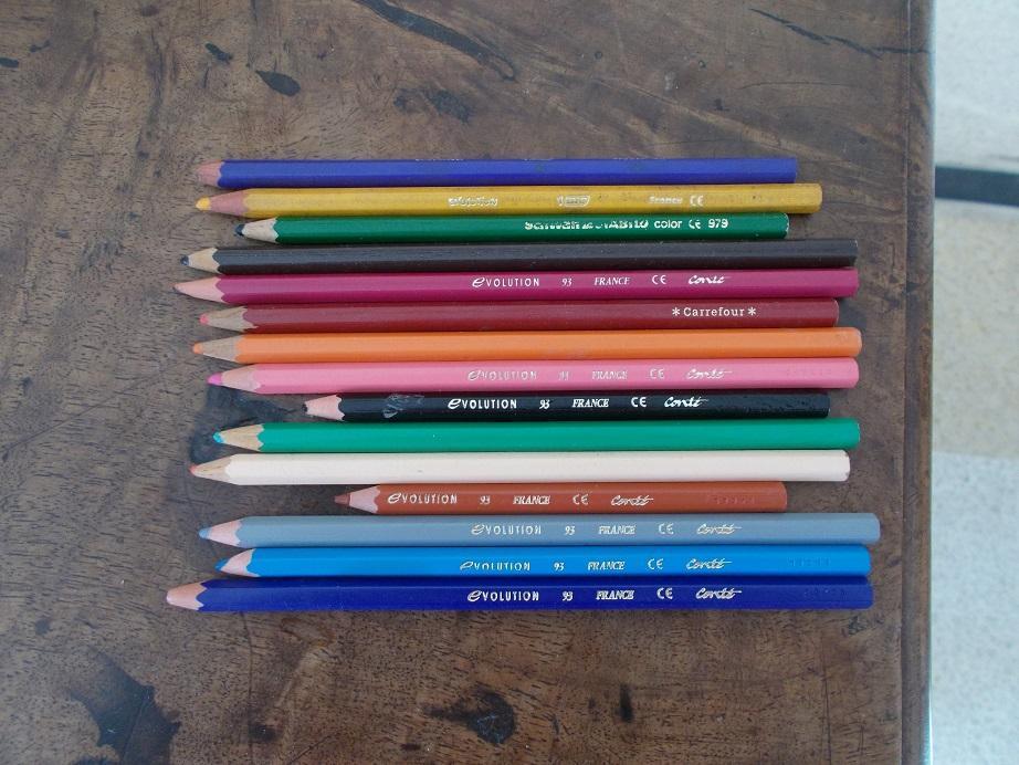 troc de troc crayons de couleur image 0