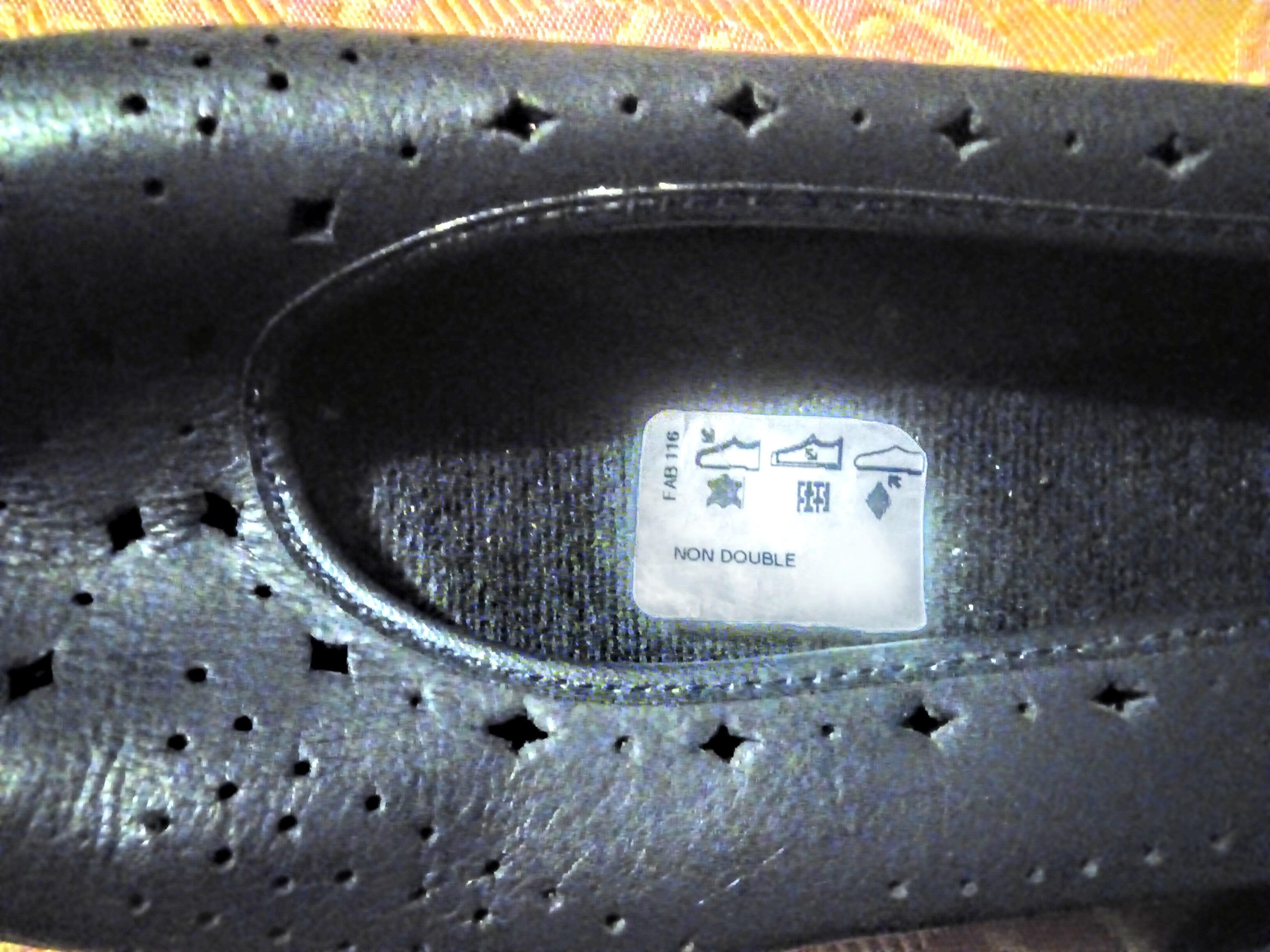 troc de troc chaussures marine t. 40 image 2
